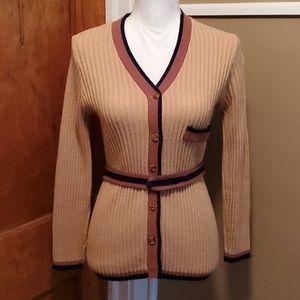 Vintage Midcentury Cardigan w/Belt 😍